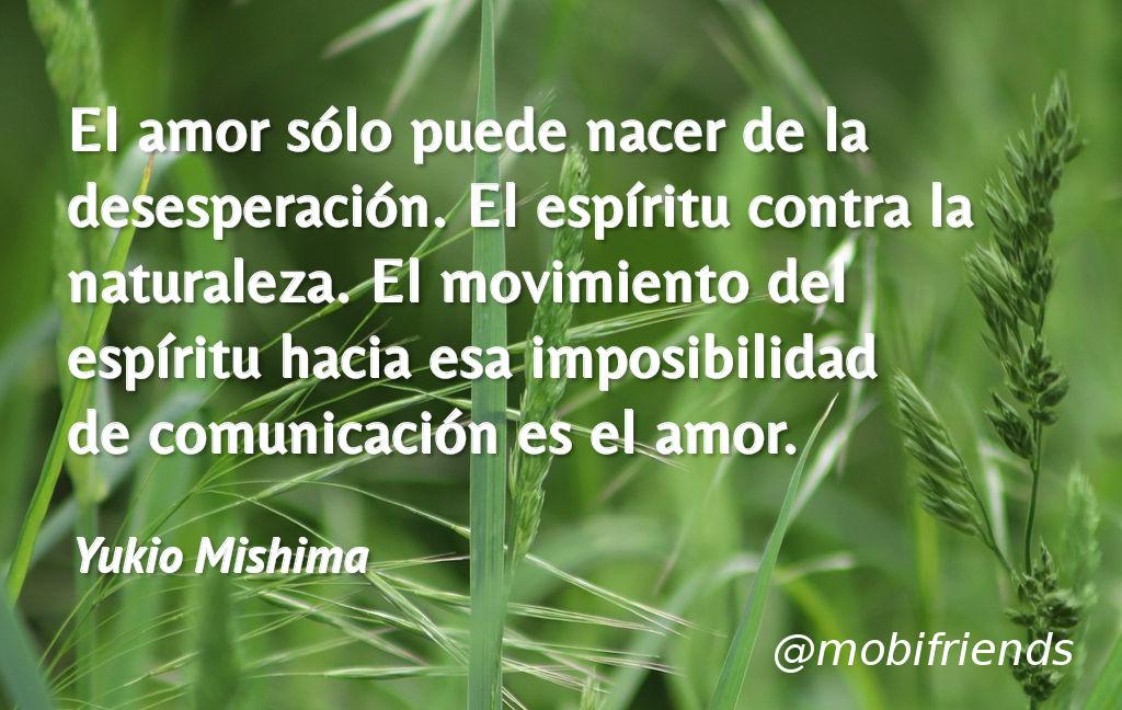 Amor Desesperacion Espiritu Naturaleza Comunicacion
