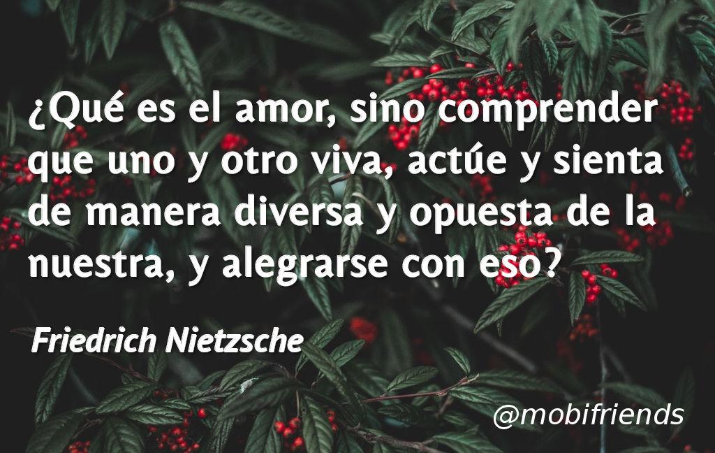 Frases De Amor De Friedrich Nietzsche Mobifriends