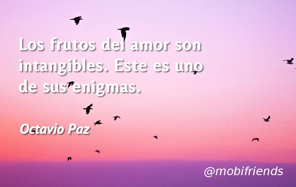 Amor Frutos Intangibles Enigma Misterio