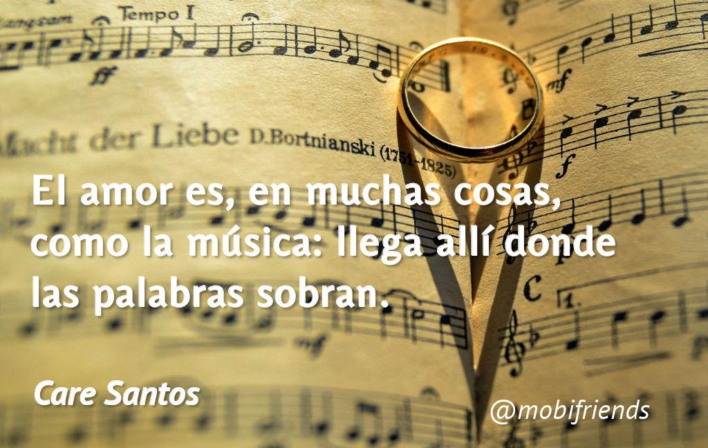 Amor Musica Palabras Llegar Completar