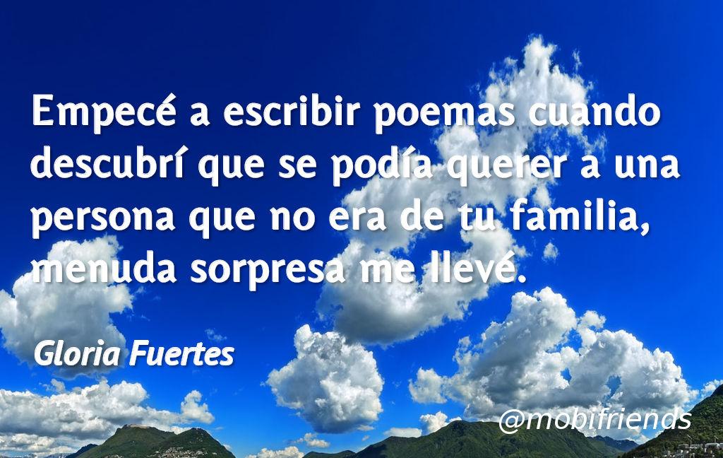 Escribir Poemas Amor Amar Familia