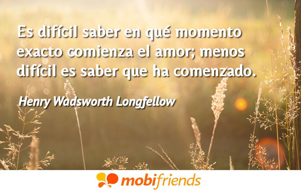 Frases De Amor De Henry Wadsworth Longfellow Mobifriends