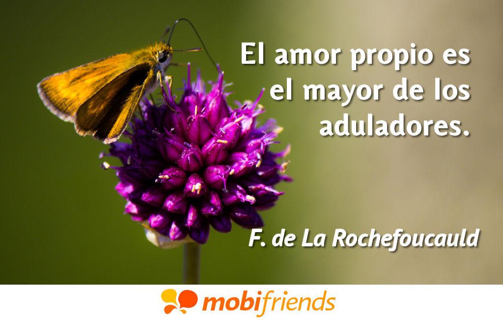 El Amor Propio Es El Mayor De Los Aduladores Frases De Amor