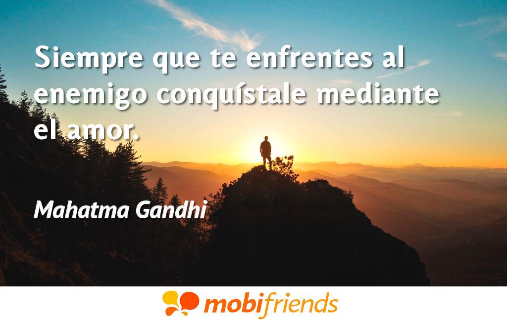 Frases De Amor De Mahatma Gandhi Mobifriends
