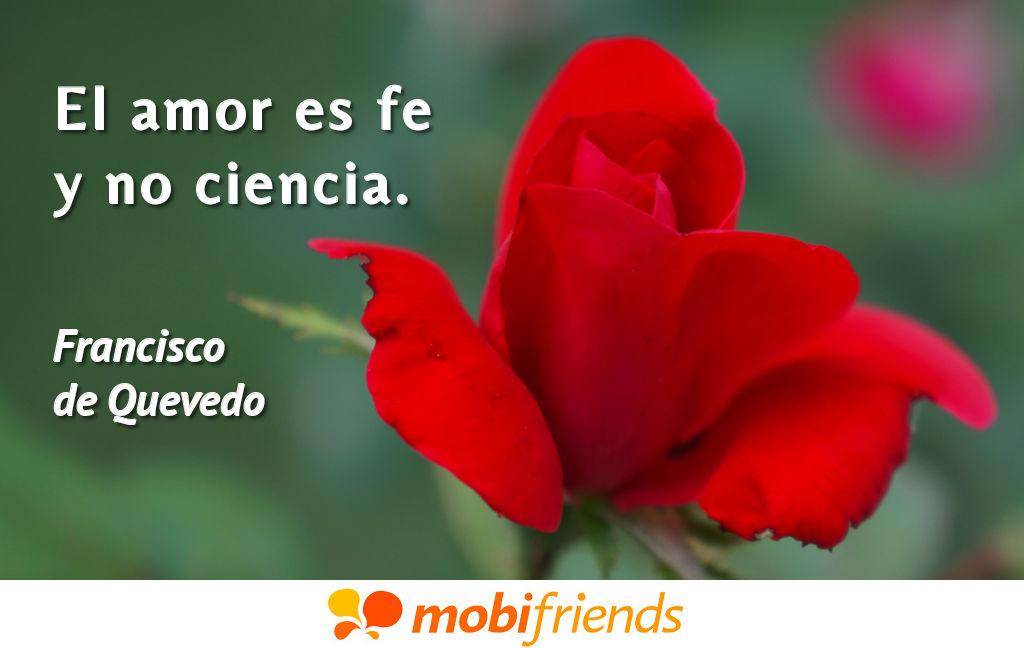 Frases De Amor De Francisco De Quevedo Mobifriends
