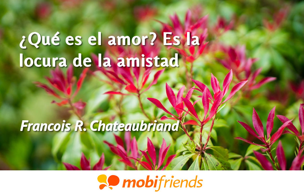Frases De Amor Sobre Amistad Mobifriends