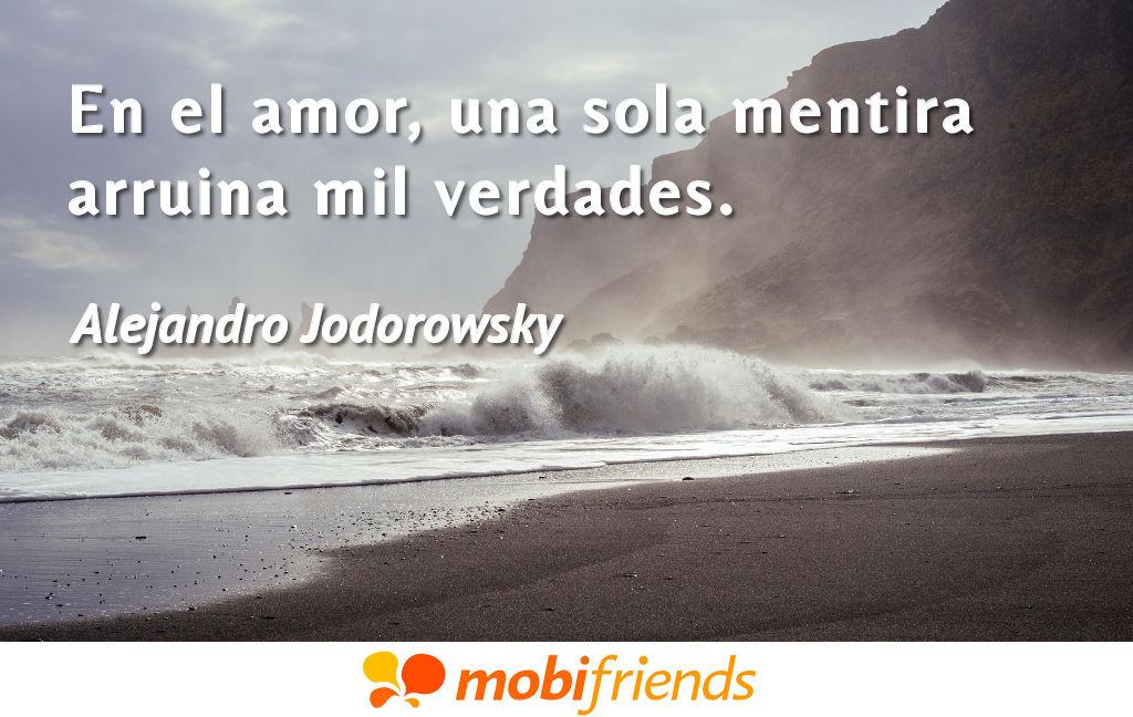 Frases De Amor De Alejandro Jodorowsky Mobifriends