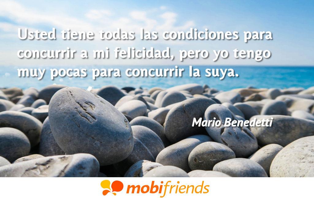Frases De Amor De Mario Benedetti Mobifriends