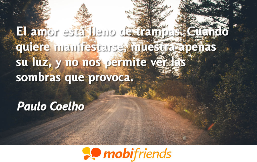 Frases De Amor De Paulo Coelho Mobifriends