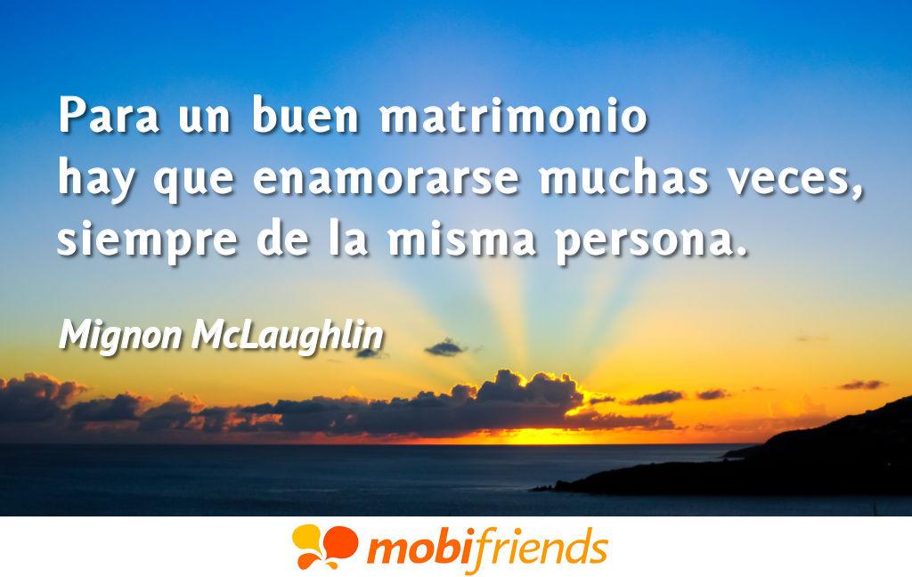 Frases De Amor Sobre Matrimonio Mobifriends
