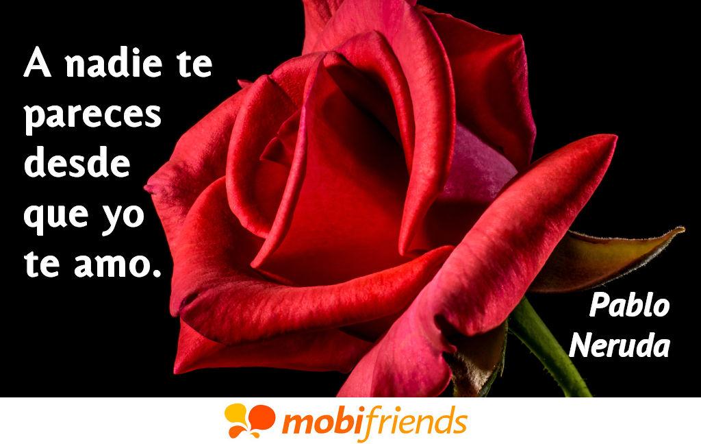 Frases De Amor De Pablo Neruda Mobifriends