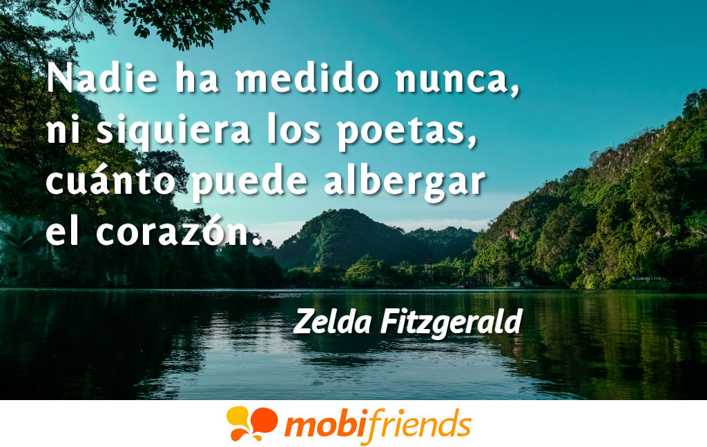 Frases De Amor De Zelda Fitzgerald Mobifriends