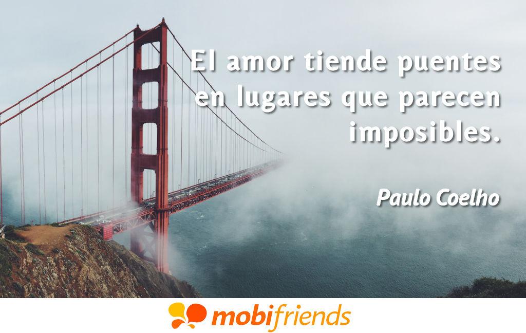Frases bonitas amor puentes