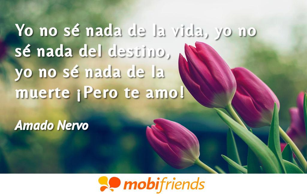 Frases De Amor De Amado Nervo Mobifriends
