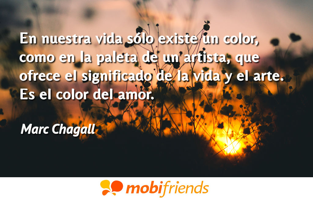 Frases reflexion amor color