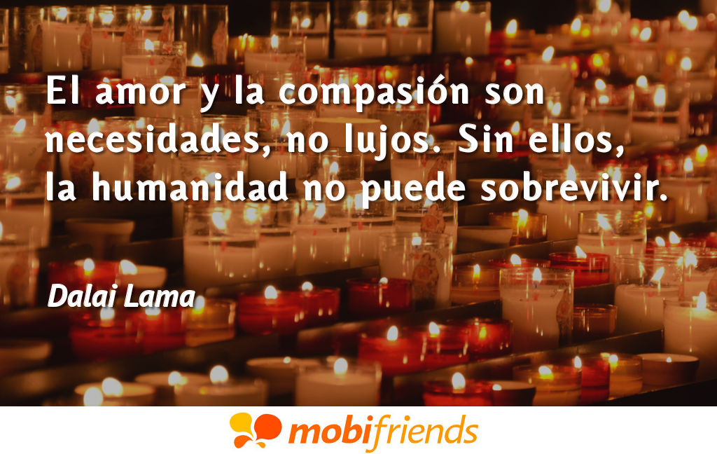 Frases reflexion amor compasion