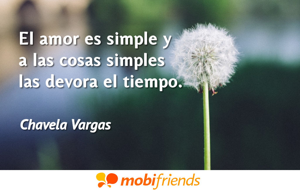 Frases reflexion amor simple
