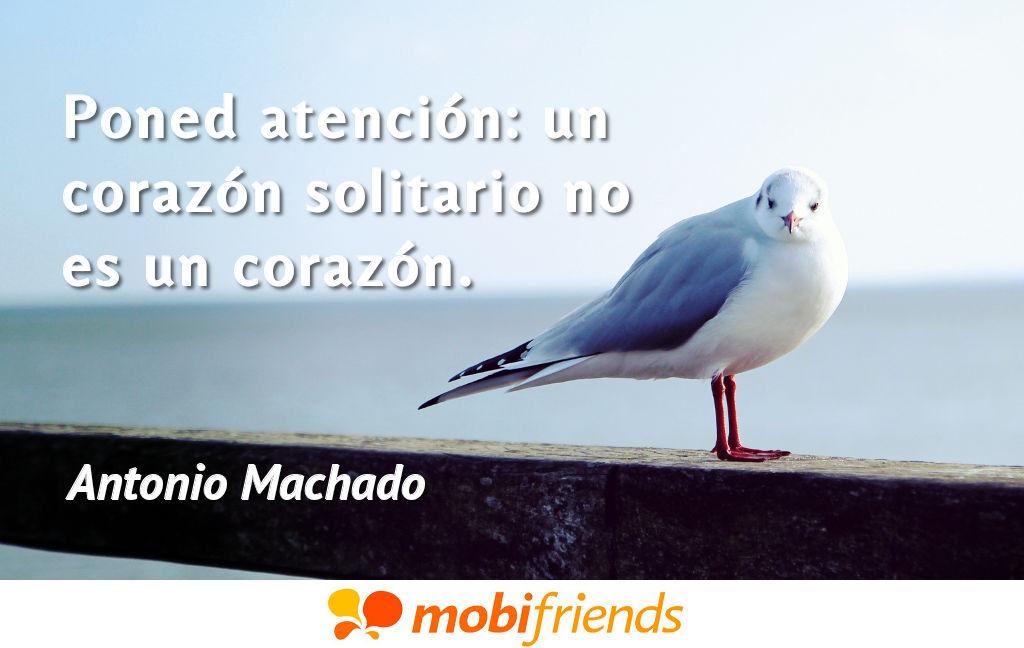 Frases De Amor De Antonio Machado Mobifriends