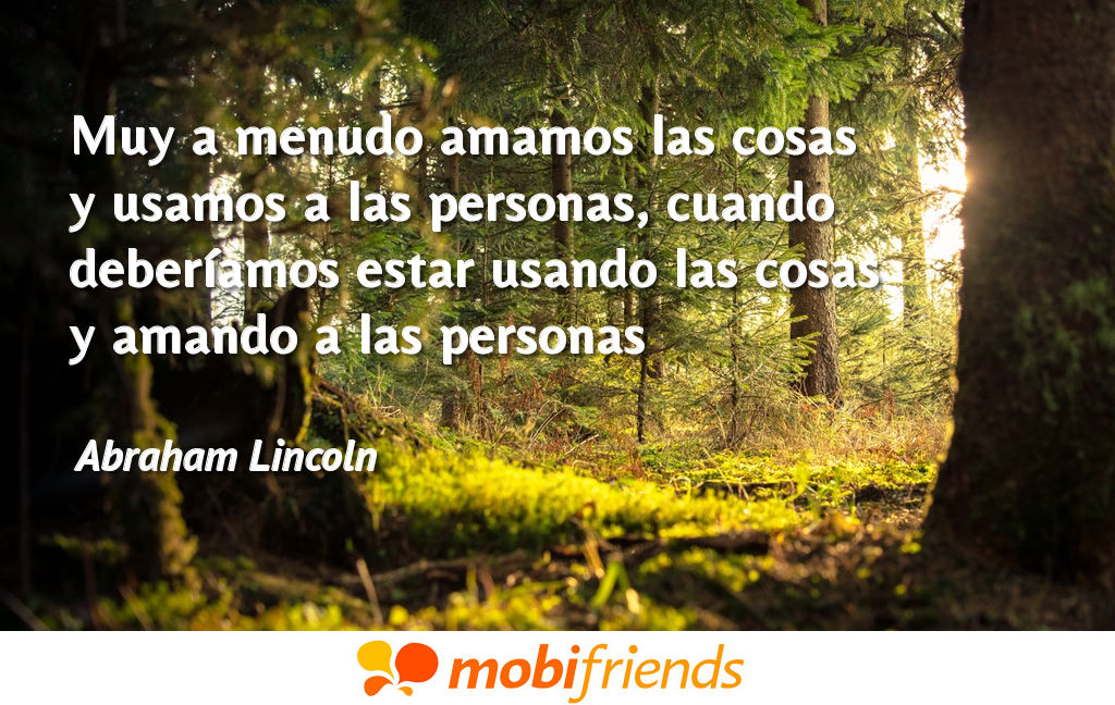 Frases reflexion amor usar personas