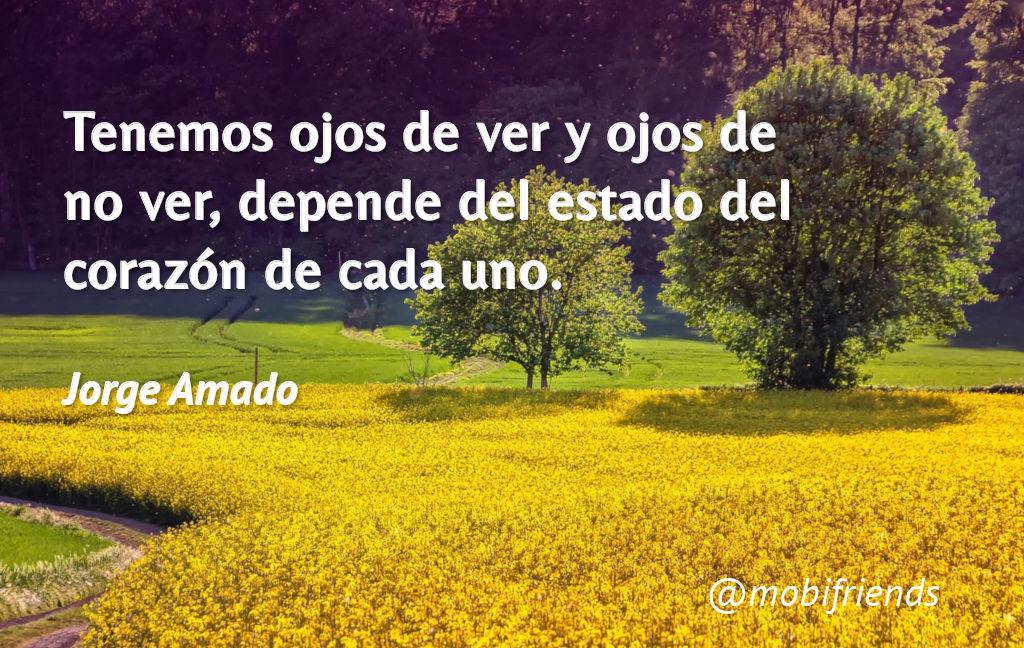 Frases De Amor De Jorge Amado Mobifriends