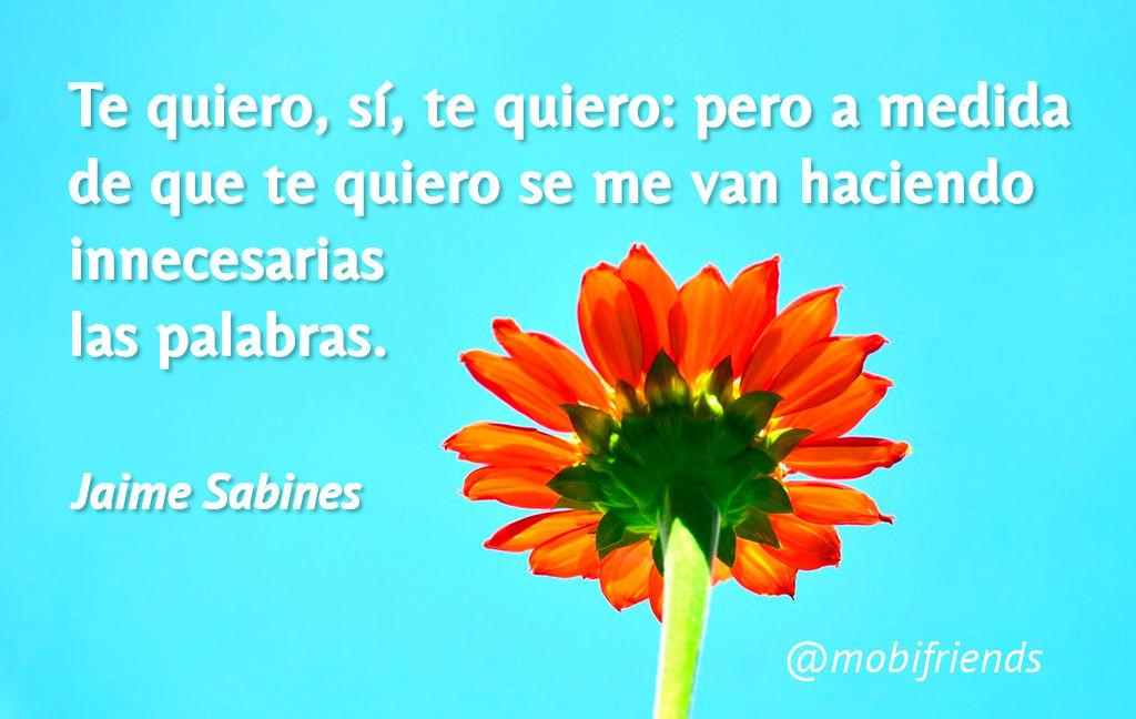 Frases De Amor De Jaime Sabines Mobifriends