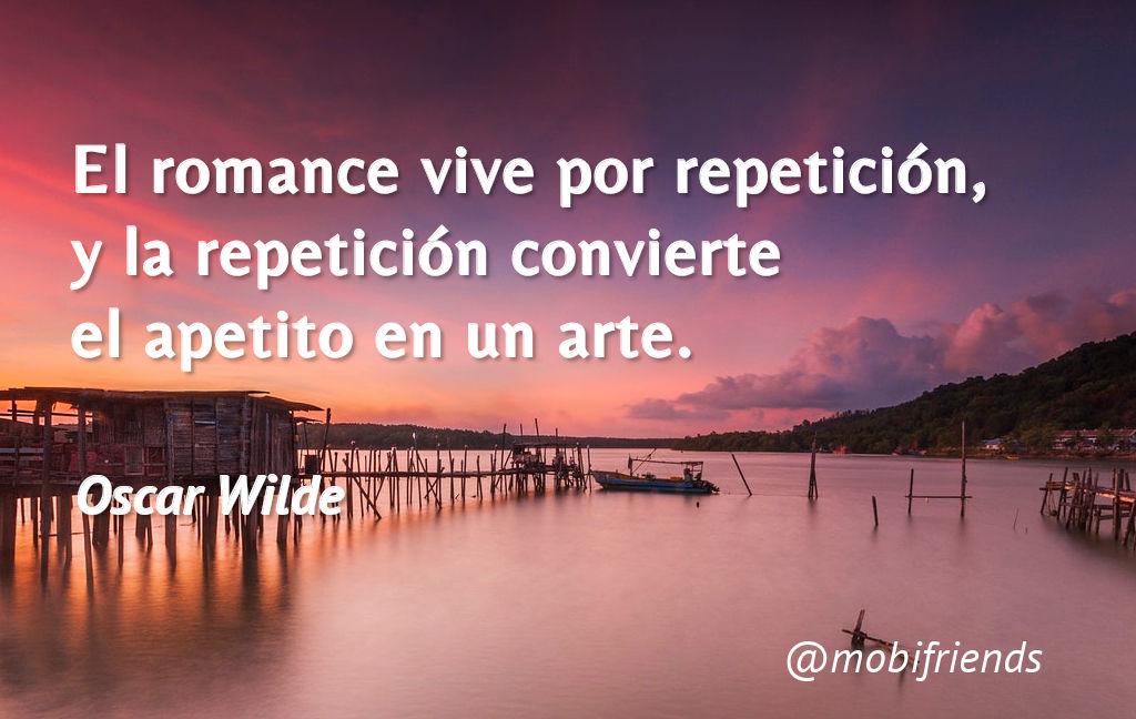 Romance Amor Repeticion Apetito Arte